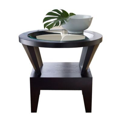 unique glass end tables 20 best round accent tables images on pinterest accent tables