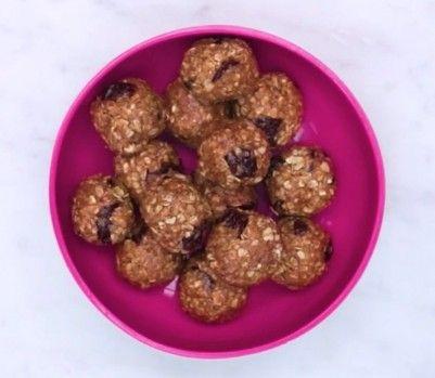 Cherry-almond energy balls