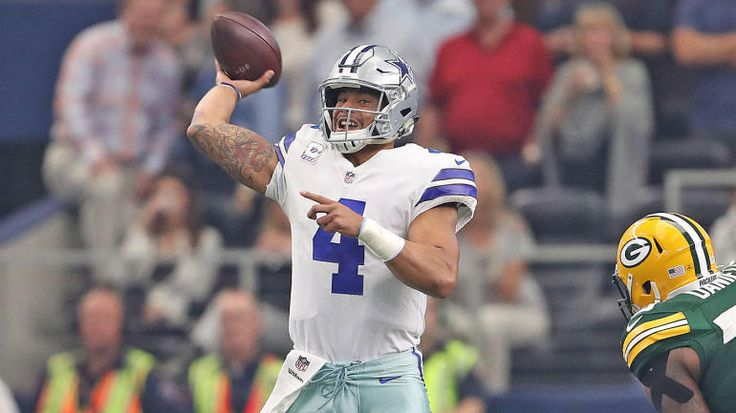 NFL games today, Week 5 scores, schedule, updates: Dak rolls in first half vs. Packers