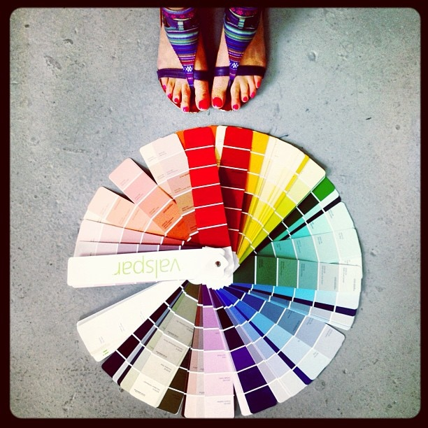 Chalk Paint Color Wheel