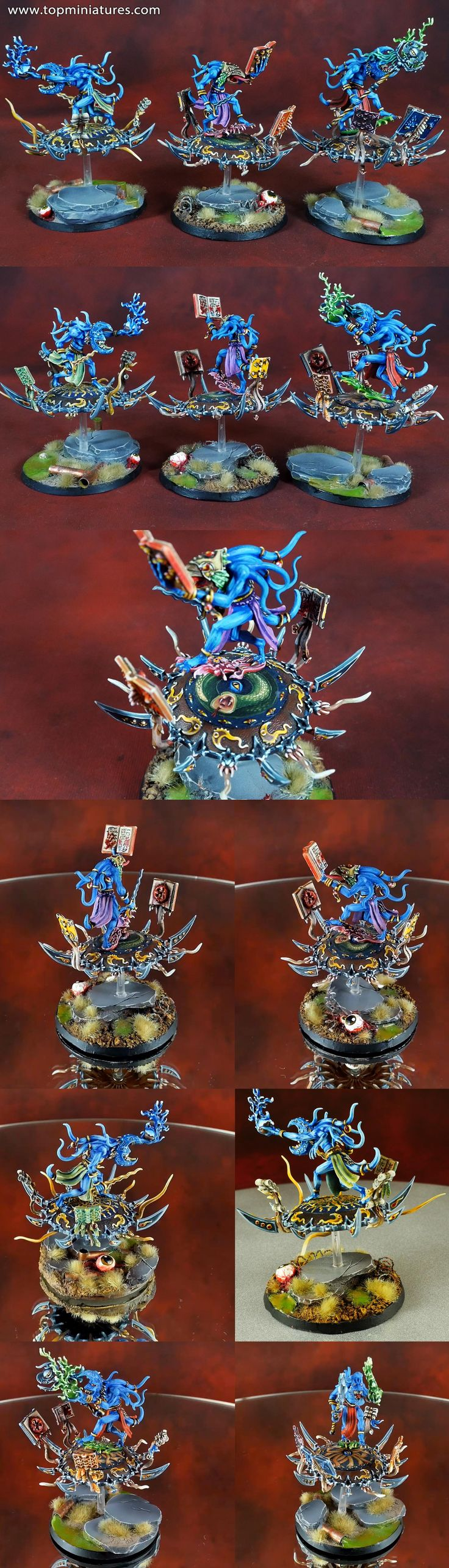 Warhammer 40k chaos daemons heralds of tzeentch on disc