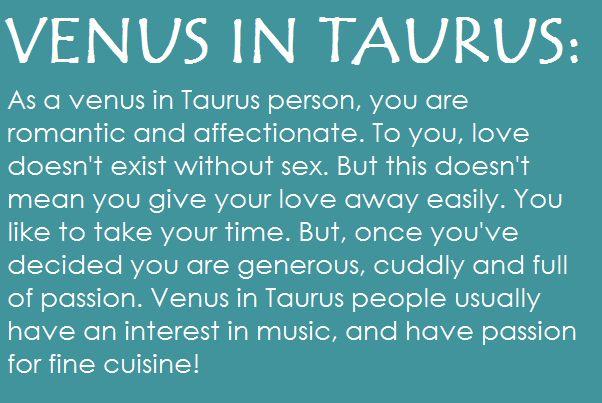 Love Taurus ♉!