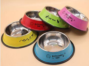 Ciotola per cane o gatto in acciaio inossidabile, disponibile in 5 colori. http://s.click.aliexpress.com/e/iqFE27A