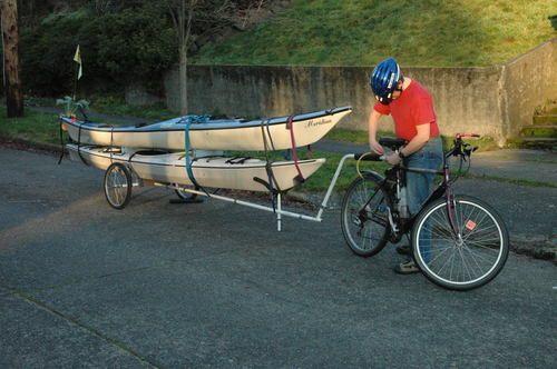 Storing Bikes On Boats: Trailers Kayak - Recherche Google