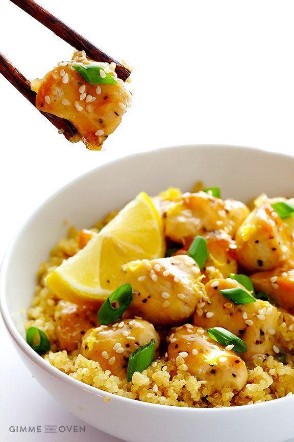 Skinny Honey Lemon Chicken | 21 Genius Reasons To Cook Chicken For Dinner Tonight