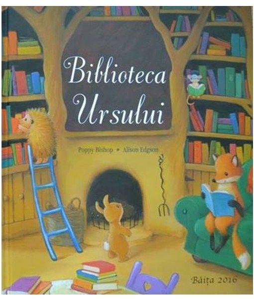 Biblioteca ursului - Poppy Bishop, Alison Edgson - File de Vis