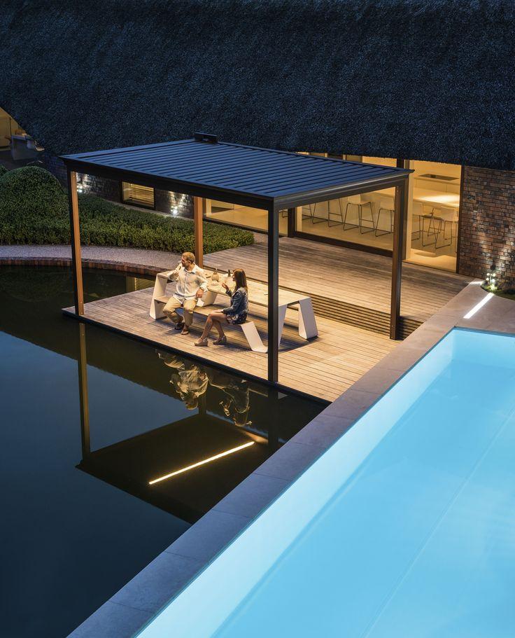 Ideal Ein echter Terrassentraum Renson Algarve Terrassendach