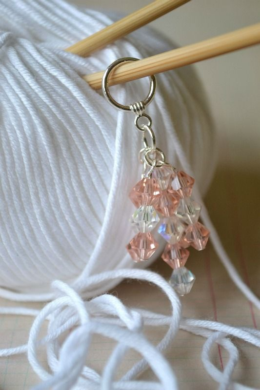 Crochet Stitch Markers Diy : 1000+ images about Knitting Stitch Markers on Pinterest Knitting ...