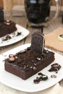Brownie Guinness Halloween