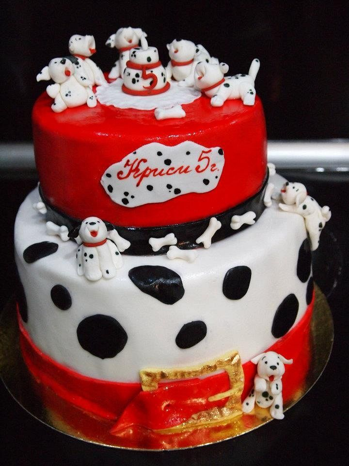 27 Best 101 Dalmations Cakes Images On Pinterest Conch