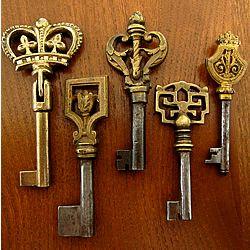 アンティークキー/1900年代初期/les trois bijoux