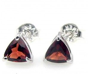 1.92ctw Genuine Garnet 6x6mm Heart & Solid .925 Sterling Silver Stud Earrings (SJE10036G) silver earrings, handmade earrings, sterling silver earrings, sterling silver stud earrings, sterling silver earrings studs, silver stud earrings, silver earrings online, earrings silver, silver earrings for wedding, silver earrings studs, earrings silver studs, sterling earrings handmade, sterling silver earrings India, silver earrings India,  sterling  silver earrings mens, fine earrings buy now…
