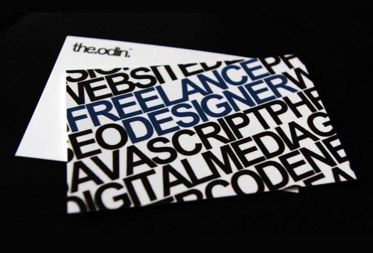the odin - Business Card Design Inspiration | Card Nerd