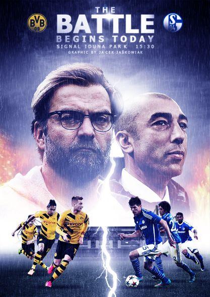 Derby Matchday Bvb Borussia Dortmund : Schalke 04
