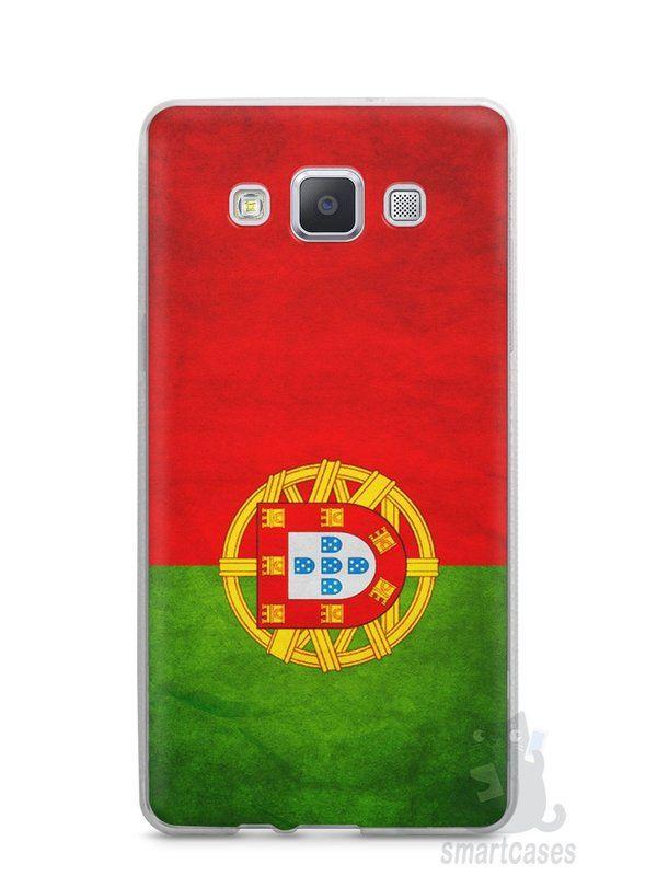 Capa Samsung A5 Bandeira de Portugal - SmartCases - Acessórios para celulares e tablets :)