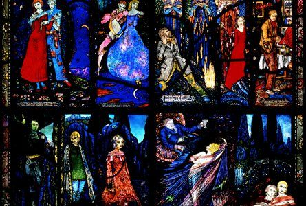 From the IAR Archive: Nicola Gordon Bowe recalls how Harry Clarke's homage to Ireland's most celebrated writers fell foul of censorship in the early days of the Irish Free State