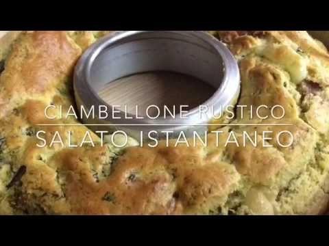 (48) Ciambellone rustico istantaneo - TUTTI A TAVOLA - YouTube