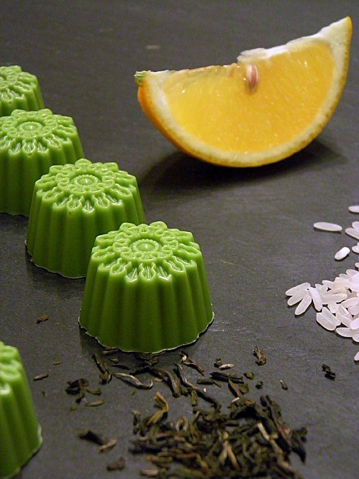 Csokoládé Reformer: Meyer citromos zöld teás bonbon