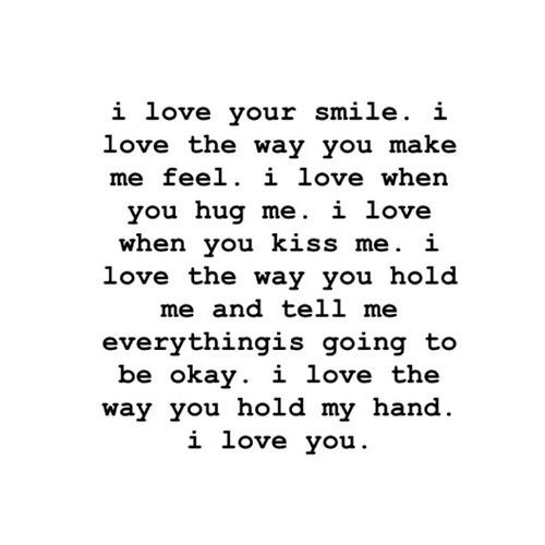 I Will Always Love You Quotes For Him Tumblr : much I love you & just want you to know that I absolutely adore YOU ...