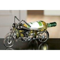 Wijnfleshouder/ bierfleshouder motor met zijspan