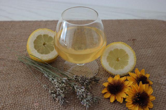 Sunflower - w wolnej chwili...: Nalewka cytrynowa - ekspresowa :)