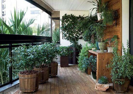 Luxury Apartment Balcony Garden Ideas