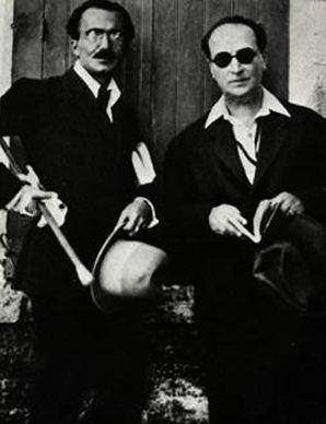 Angelos Sikelianos,Nikos Kazantzakis