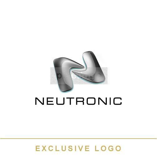 Liquid Metal Network Logo 3D-EX-742 - pixellogo