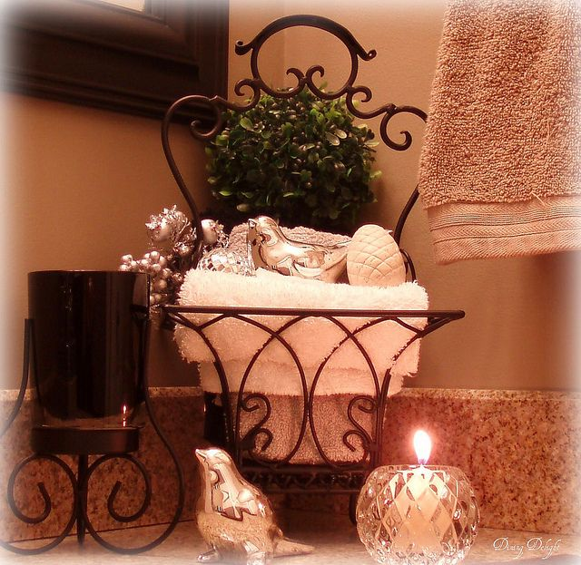 Bathroom Counter Decor | Flickr   Photo Sharing!