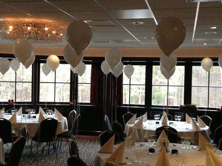 19 best ballonnen huwelijk images on pinterest just for Ballonnen tafels