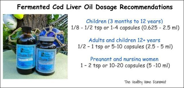 Fermented cod liver oil dosage recommendations from Naturopathic Doctor Dr. David Levi.  http://www.thehealthyhomeeconomist.com/fermented-cod-liver-oil-best-supplement/