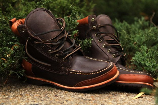 Ronnie Fieg for Sebago Fall/Winter 2012 Bergen & King's Point Boots @ Kith NYC