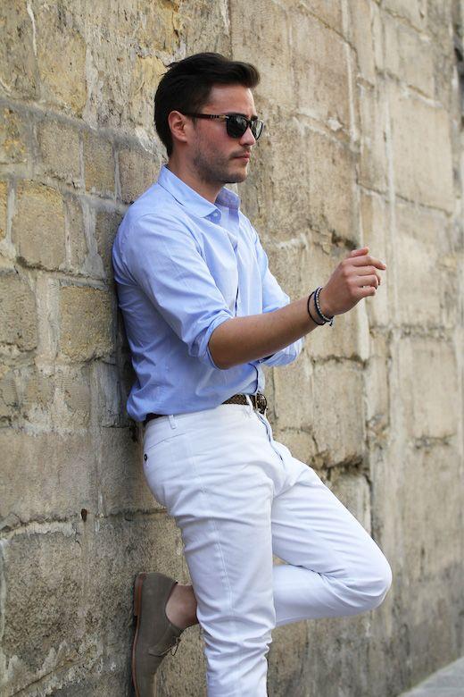 Pantalon blanc De Fursac