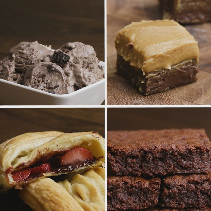 If you're a chocolate lover like I am, try these recipes out!