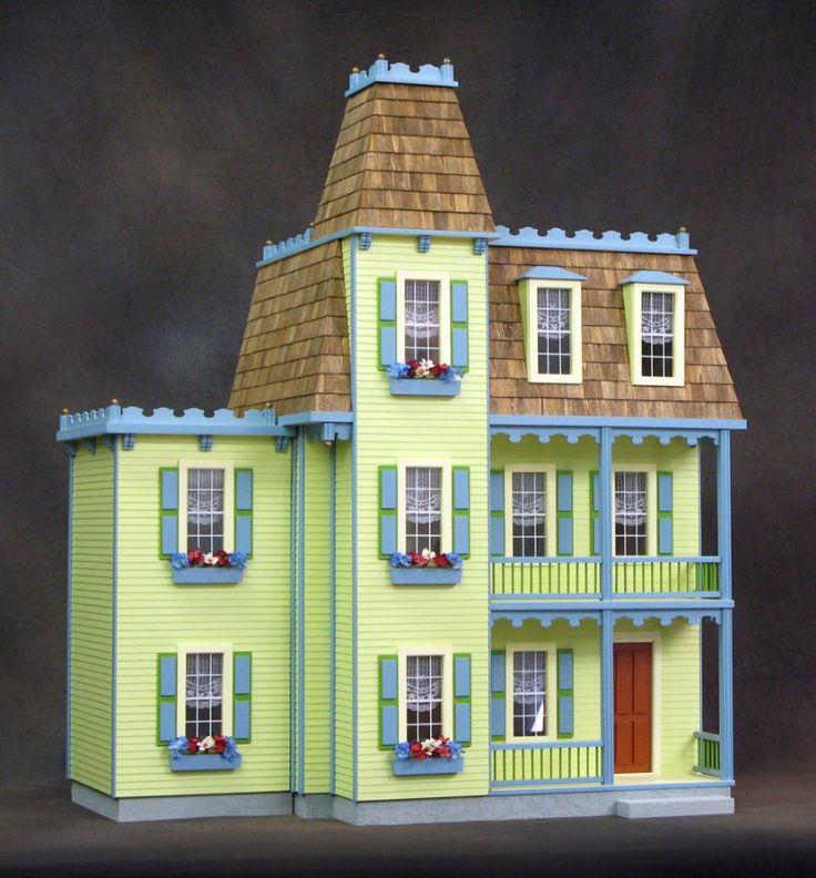 Victorian Alison Jr Dollhouse Inside All Doll Houses