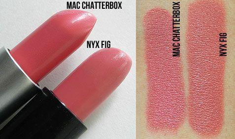 Mac chatterbox lipstick dupe