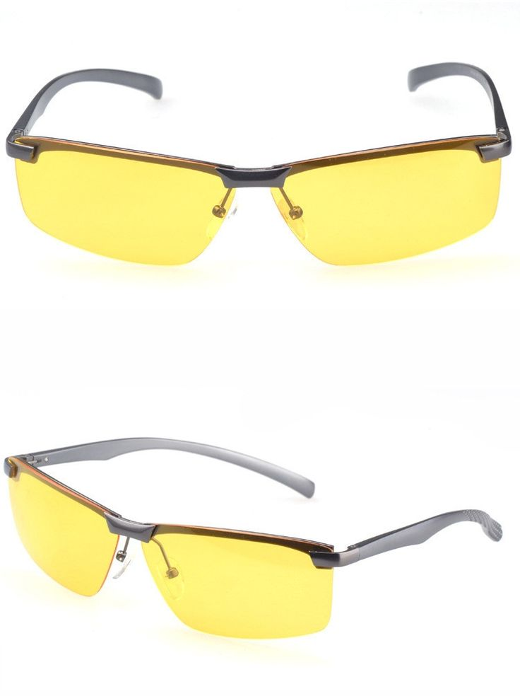 Aviation Polarized Aluminum Magnesium Driving Night Vision Sunglasses - Get it on the Dailydeal