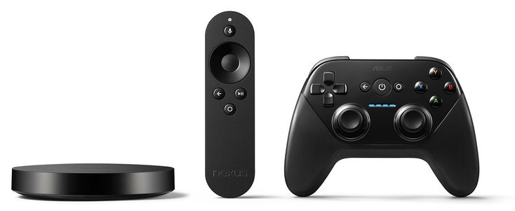 Player console, remote and gamepad #NEXUS #GOOGLE