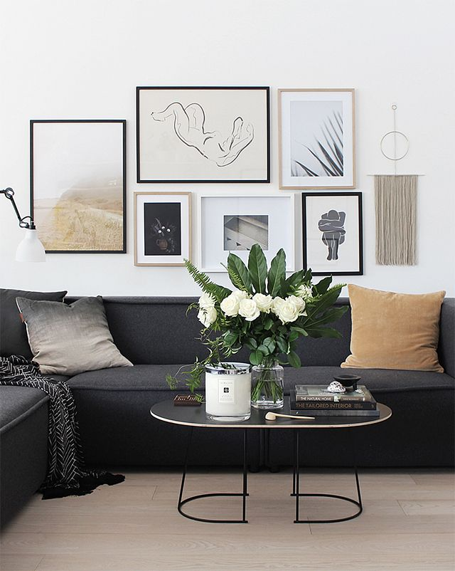 The 25+ Best Charcoal Couch Ideas On Pinterest | Dark Couch, Charcoal Sofa  And Small Couches Living Room Part 90