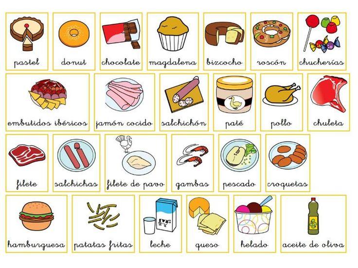 581 best images about vocabulario on pinterest amigos - Alimentos en ingles vocabulario ...