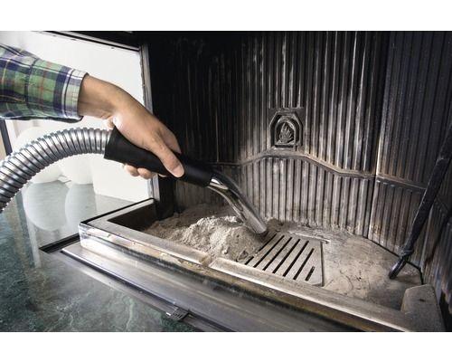 Используя дополнительный фильтр для золы, вы сможете очистить камин от пепла или золы без лишних усилий.