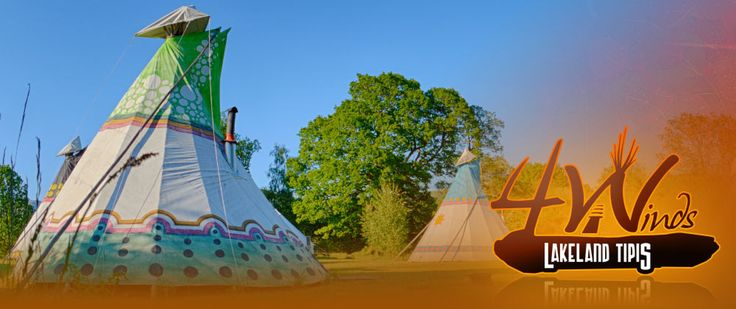 Tipi Glamping Accommodation - The Lake District