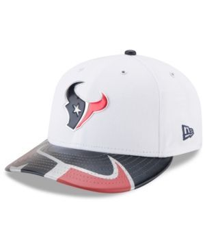 New Era Houston Texans Low Profile 2017 Draft 59FIFTY Cap - White/Navy/Red 7 1/4