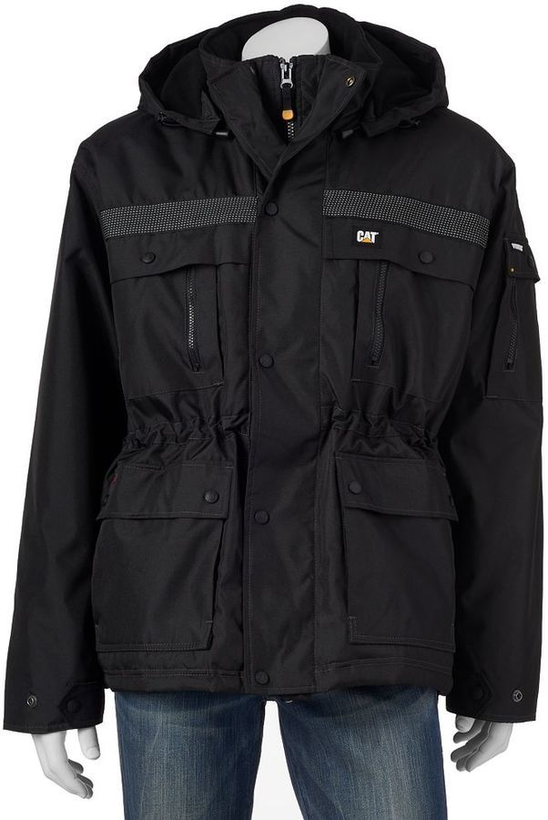 Men's Caterpillar Heavy-duty Parka Jacket