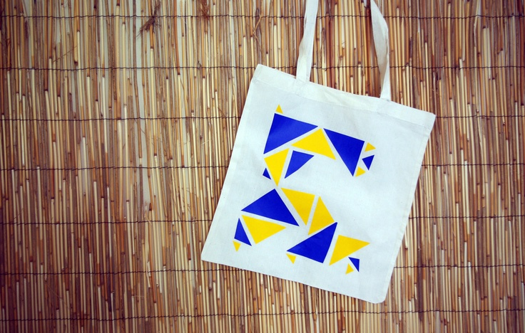 Tote Bag Design: Origami