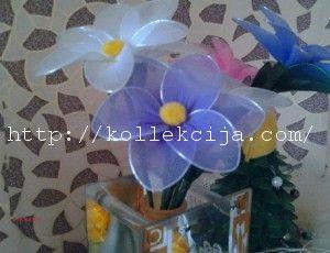 Цветок из капрона своими руками | Своими руками — интернет журнал