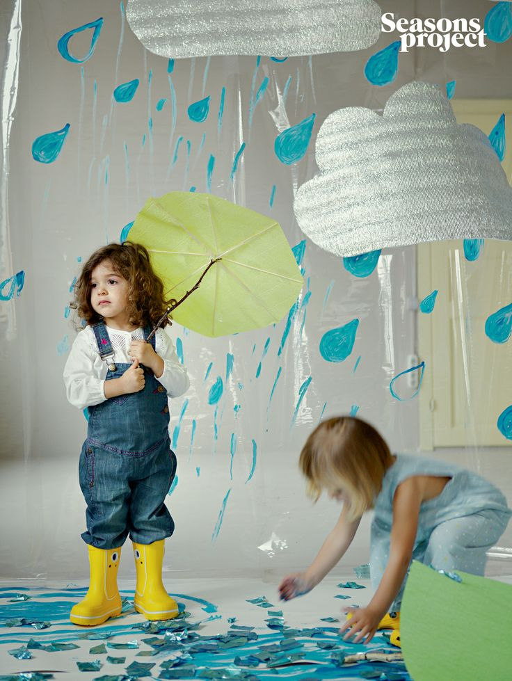 Seasons of life №9 / May-June issue  #seasonsproject #seasons #kids #children #rain #girl #decor #blue