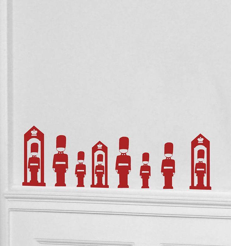 Mini London Guard Wall Stickers