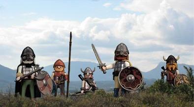 Viking Raiding Party -  Playmobil Style