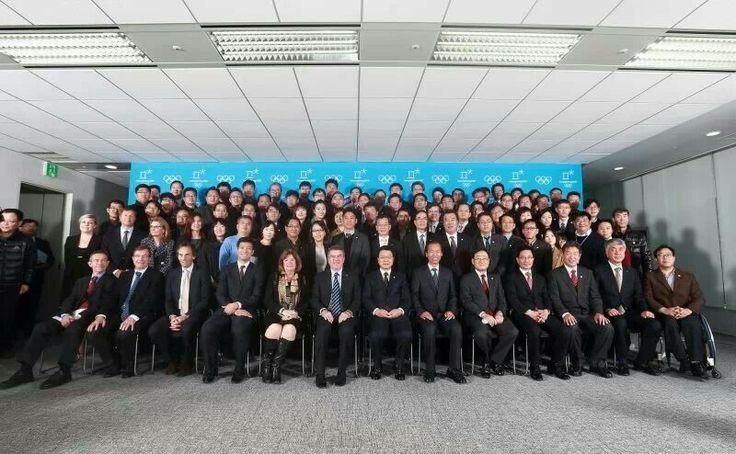 2013년 11월 21일, 토마스 바흐 IOC위원장의 2018평창동계올림픽위원회 방문